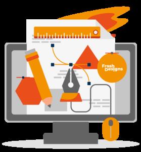 Grafik von einem Bildschirm von Fresh Designs