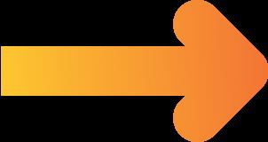 Pfeil nach rechts mit einem orangen Verlauf